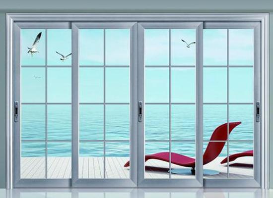 阳台玻璃移门